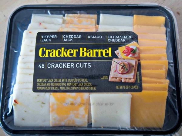 Cracker Barrel Cheese Tray