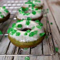 Green Donuts for St. Patrick's Day