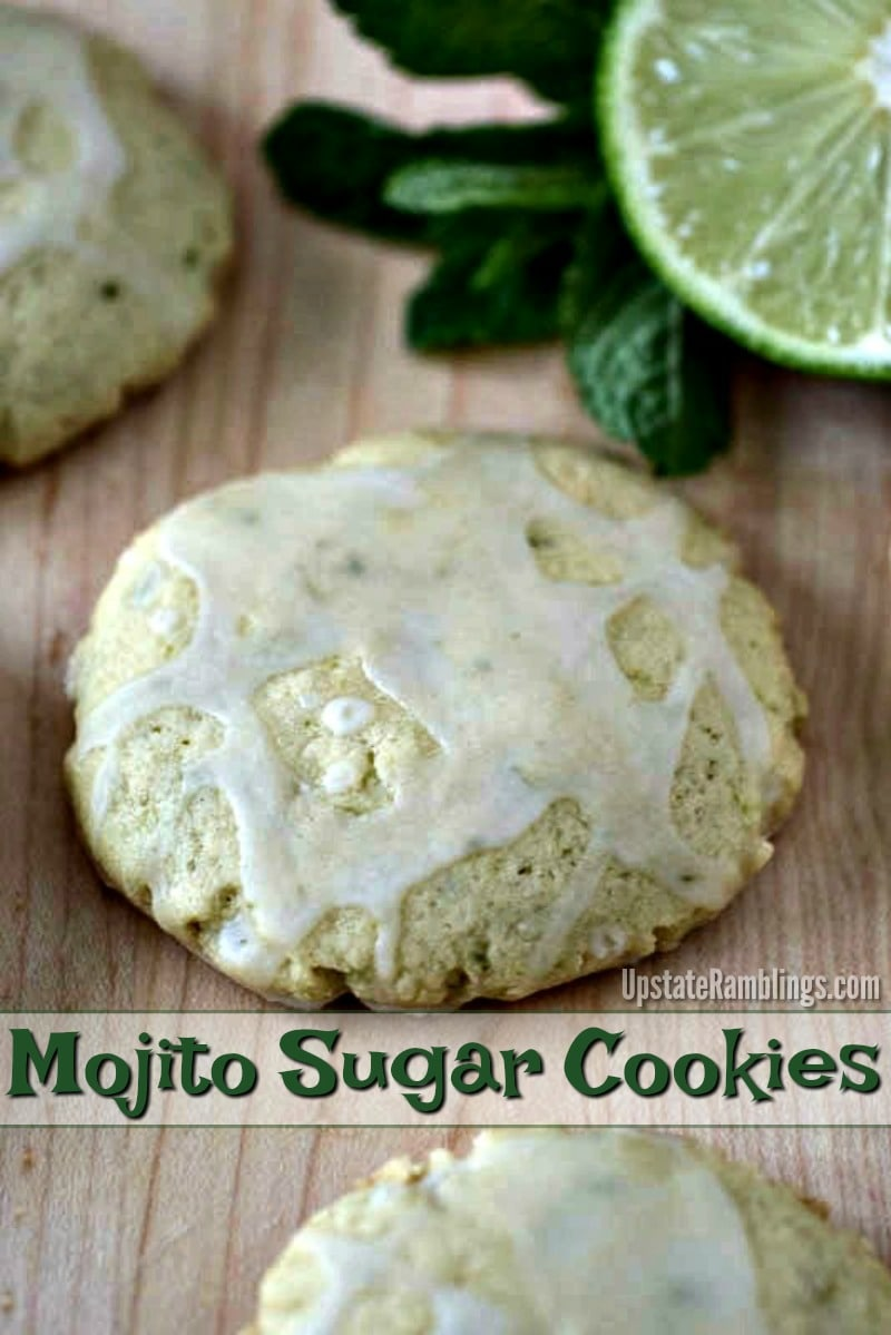 Mojito Sugar Cookies