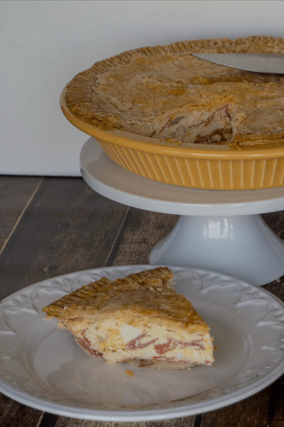 italian easter meat cheese pie recipe