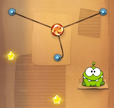 cut the rope small