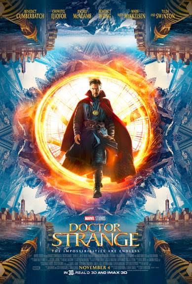 Doctor Strange Movie Poster - in theaters November 4th