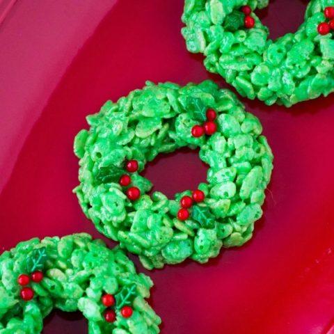 Holiday Wreath Treats