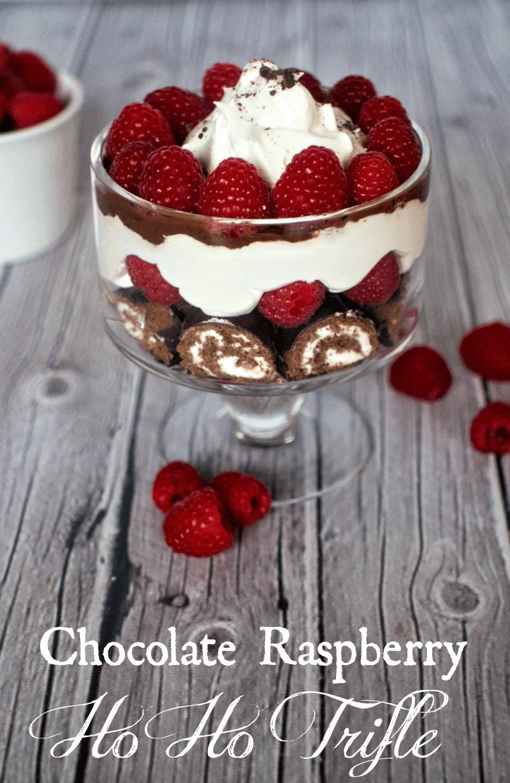 Chocolate Raspberry Ho Ho Trifle Upstate Ramblings