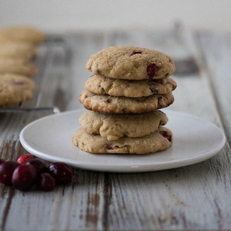Cranberry Walnut Cookies