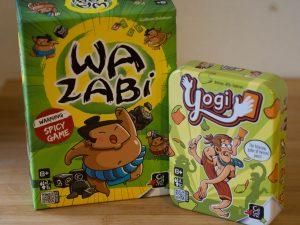 Yogi & Wazabi – Fun Party Games with Giveaway