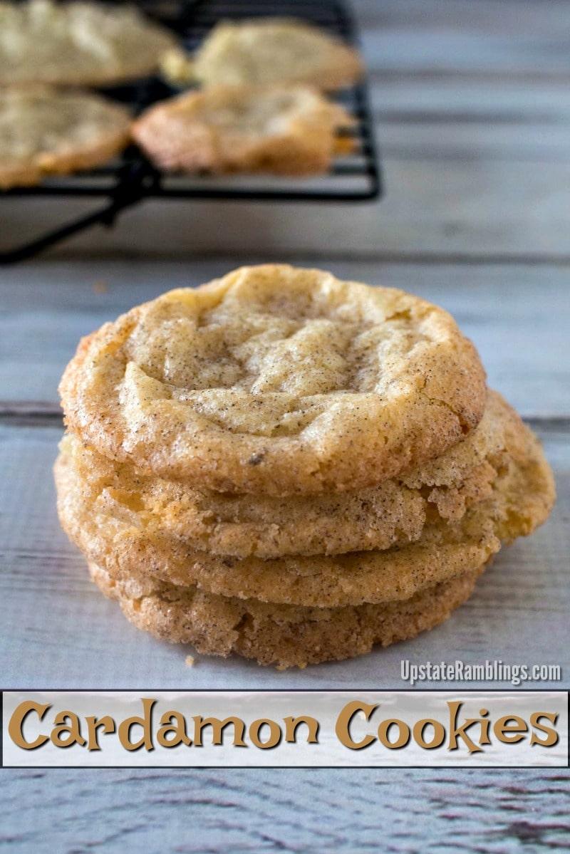 Cardamon Cookies