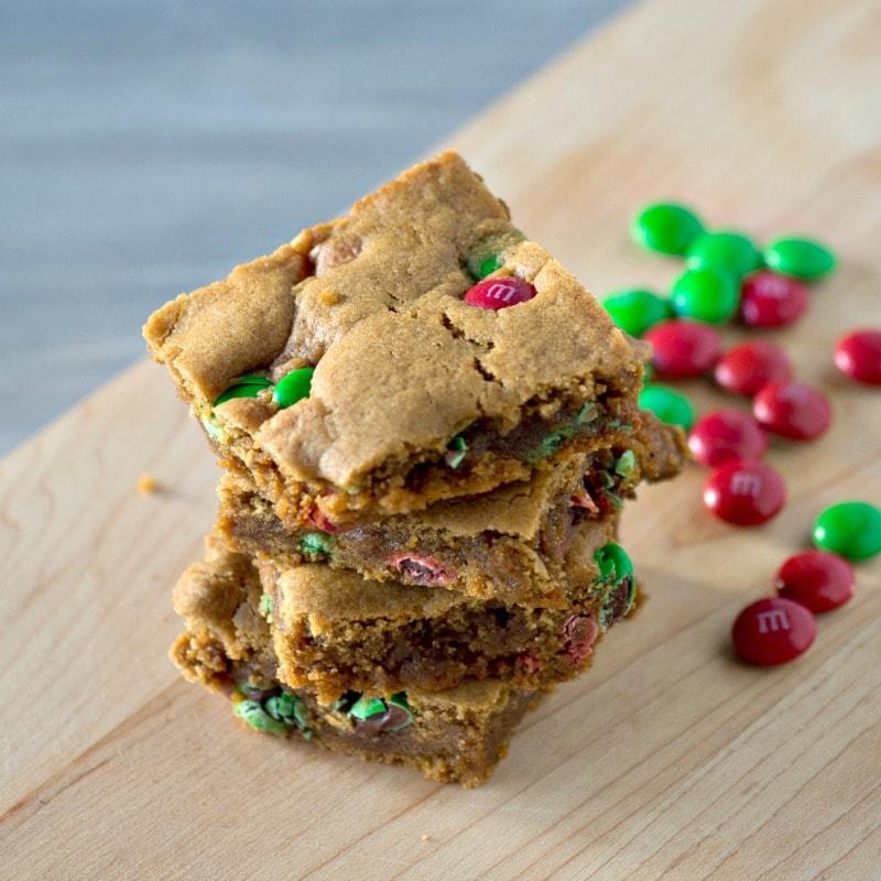 Gingerbread Dessert Bars for christmas