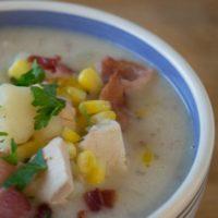 Instant Pot Turkey Corn Chowder Recipe
