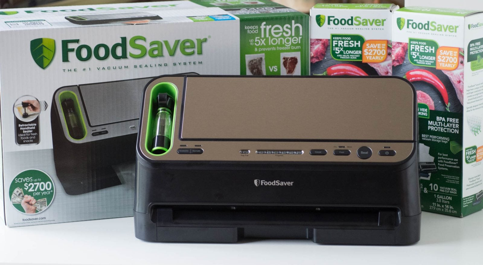 Foodsaver Vacuum System for Sous Vide cooking