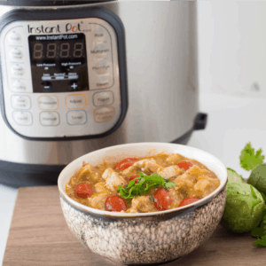 Instant Pot Tomatillo Chicken Stew