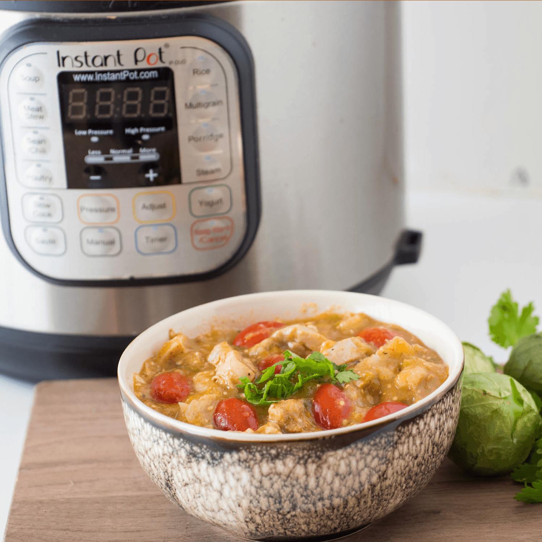 Instant Pot Tomatillo Chicken Soup Recipe