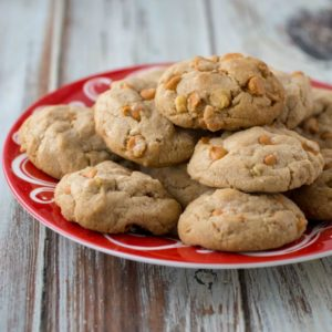 Rich & Chewy Butterscotch Cookies with Pecans