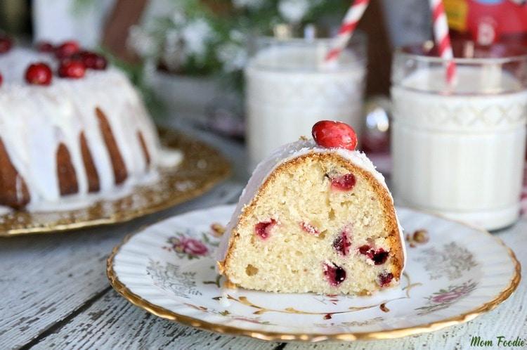 Fresh Cranberry Cake Recipe - Fall Cake Flavors
