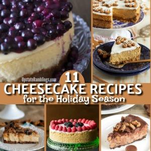 11 Cheesecake Recipes for the Holiday Season