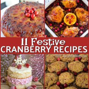11 Festive Cranberry Recipes