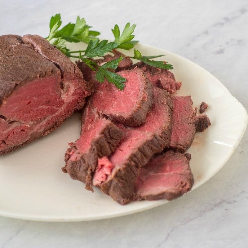 roast tenderloin of beef for Christmas dinner