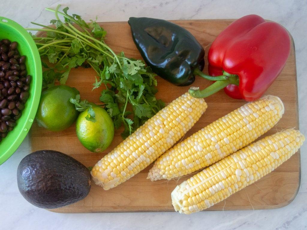southwestern grilled chicken salad ingredients