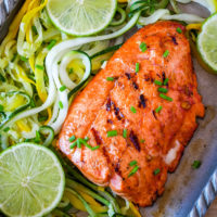 Spicy Grilled Salmon