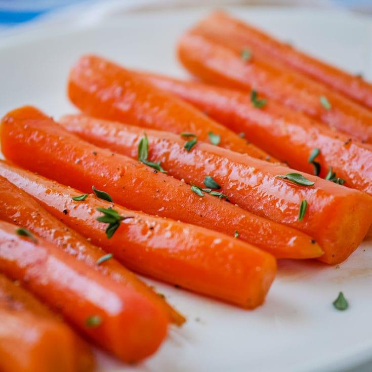 Maple Bourbon Sous Vide Carrots Upstate Ramblings