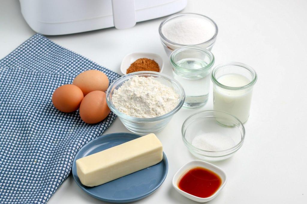 churro ingredients